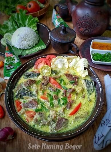 Resep Soto Bogor : resep, bogor, Resep, Kuning, Bogor