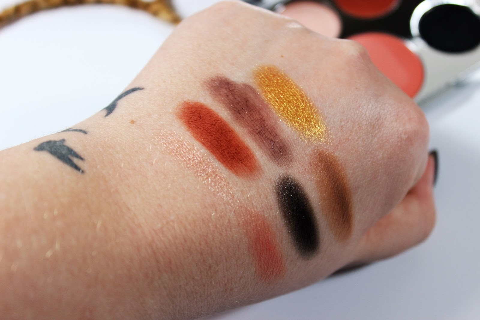 Transformation Palette Swatches
