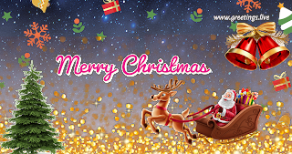 Santa claus coming merry Christmas gift free png images