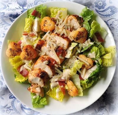 Griled Chicken Caesar Salad