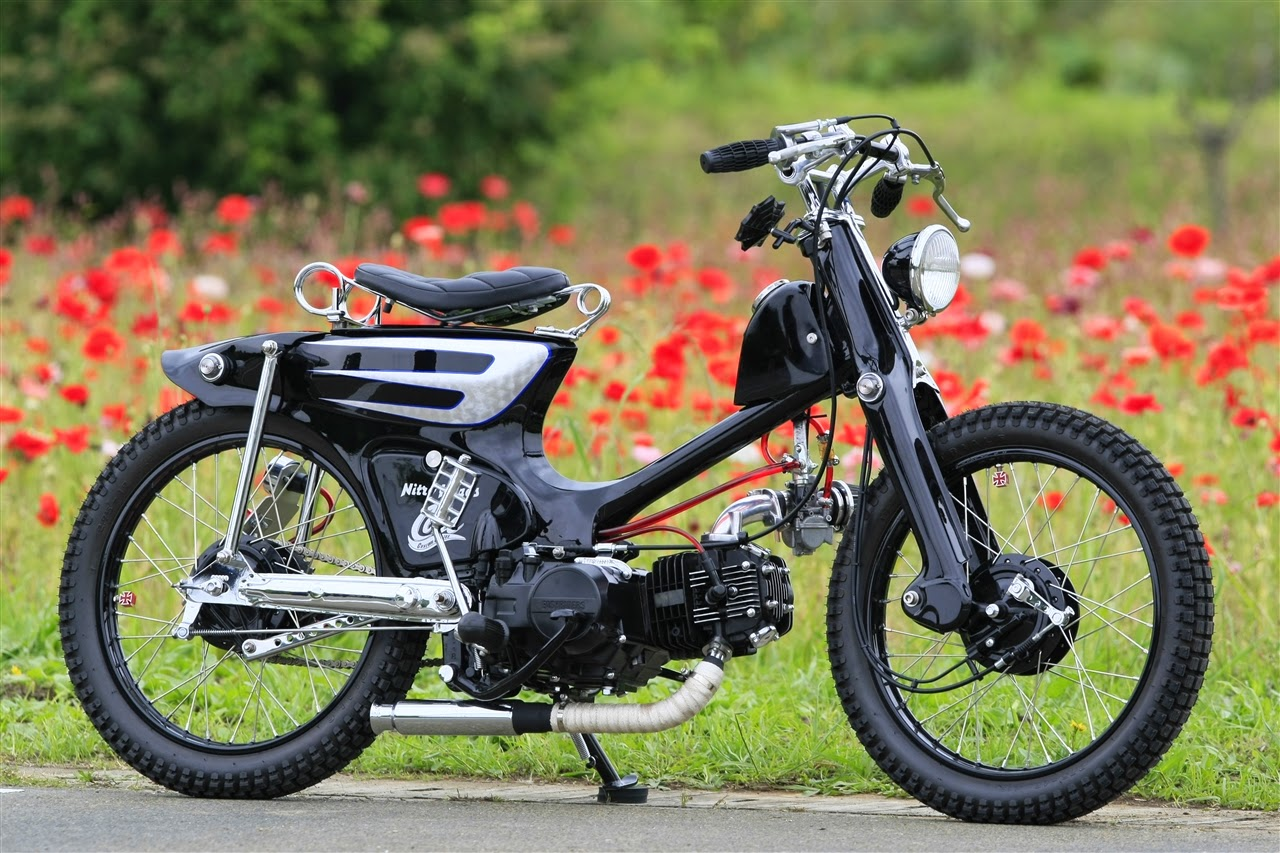 Kumpulan Gambar Modifikasi Motor Honda C Keren Berbagai Desain