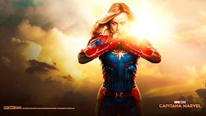 CAPTAIN MARVEL (Capitana Marvel) Wallpaper HD 2019
