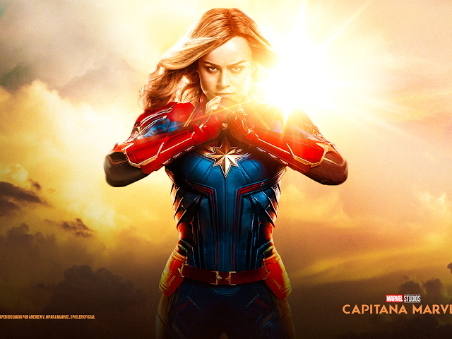 CAPTAIN MARVEL (Capitana Marvel) Wallpaper HD 2019