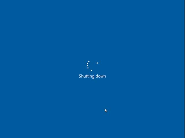Shutdown Windows 10