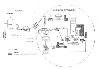 chemical reclaim pulp and paper process