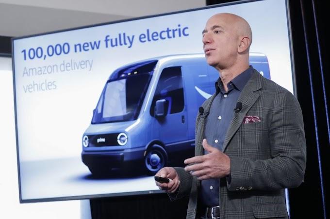 Amazon encomendou cem mil vans / furgões eléctricas da Rivian