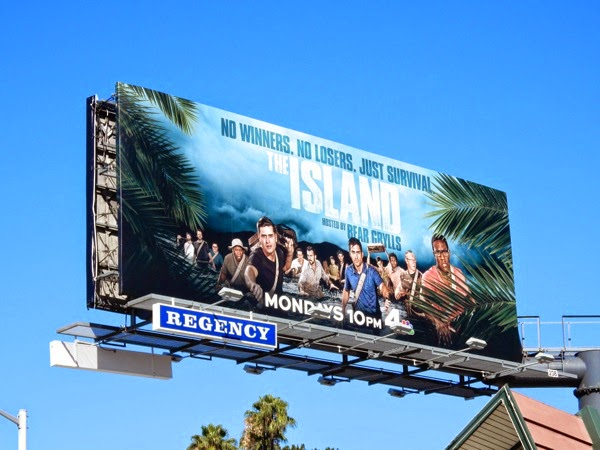 The Island US series premiere billboard