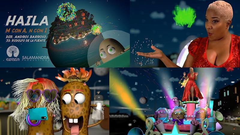 Haila María Mompié - ¨M con A, N con I¨ - Videoclip / Dibujo Animado - Director: Andros Barroso. Portal Del Vídeo Clip Cubano