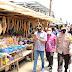 Kapolda Kalsel Tinjau UMKM Pengolahan Amplang Ikan Saijaan di Kotabaru