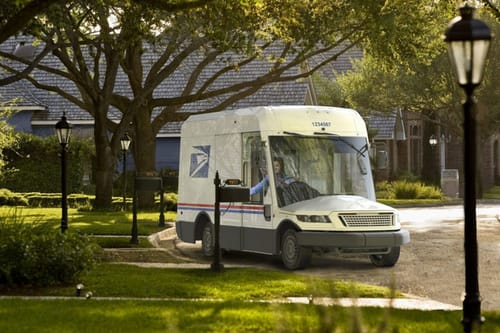 USPS launches new mail vehicle with electric options
