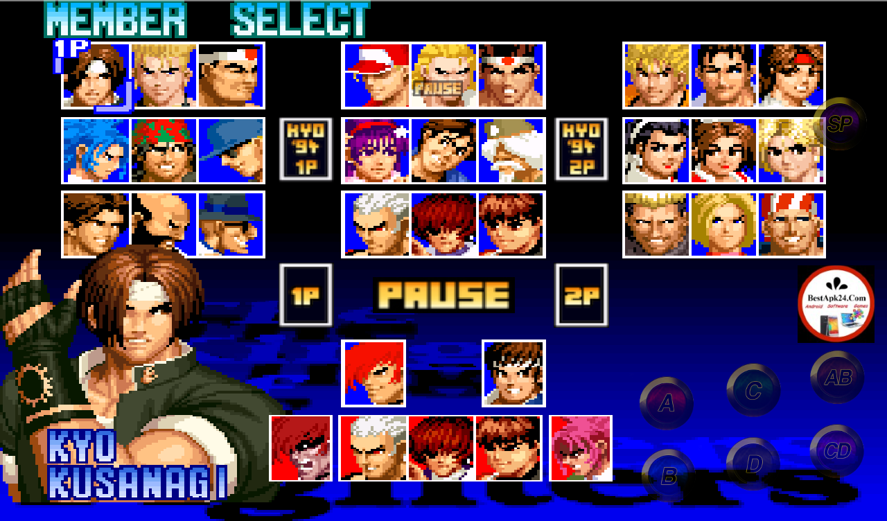 THE KING OF FIGHTERS  97 APK and DATA