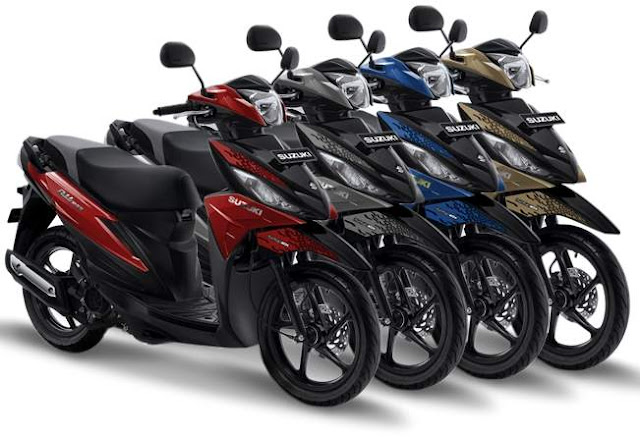 4 warna baru Suzuki Address Playful 2019