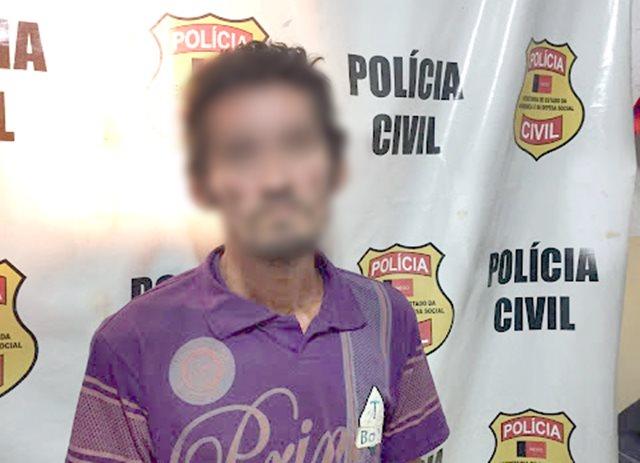 Tiquinho é preso pela Polícia Civil por força de mandado de prisão, no alto sertão paraibano