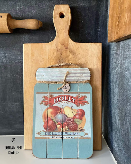 Dollar General Farmhouse Jar Sign Makeovers