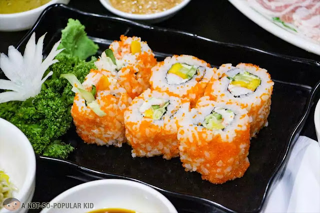California Maki of Korean Village Restaurant