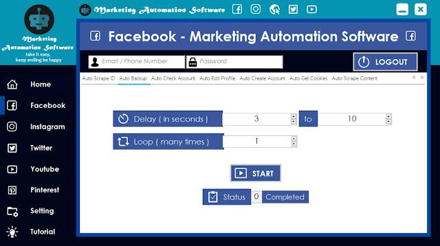 Cara Cepat Backup Data Facebook Secara Automatis