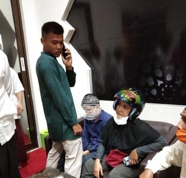 Pelaku penusukan imam masjid Al Falah Darul Muttaqin Pekanbaru, Riau