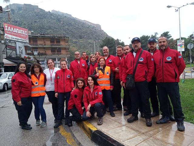 Η Ελληνική Ομάδα Διάσωσης Αργολίδας στον 5ο Παλαμήδειο Άθλο