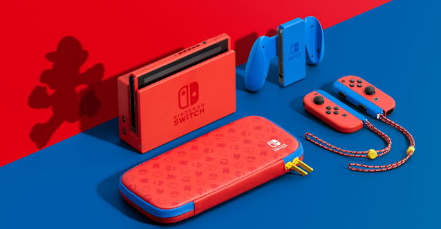 Nintendo Switch Red-Blue Edition