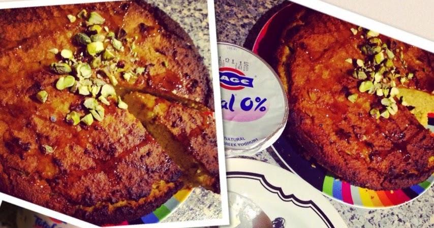 Flourless Orange Pistachio Cake Recipe