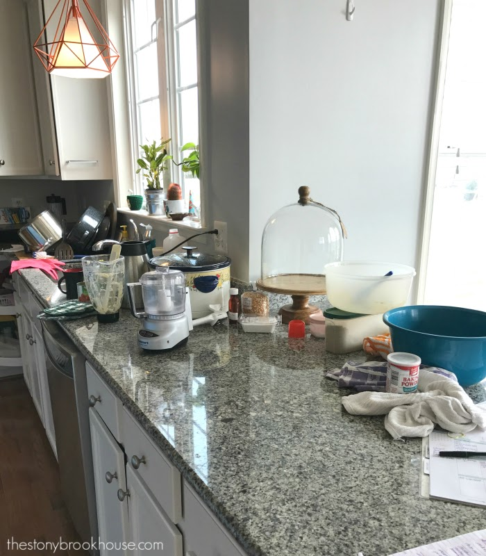 Messy Kitchen: Prepping Meals For Surgery Recovery