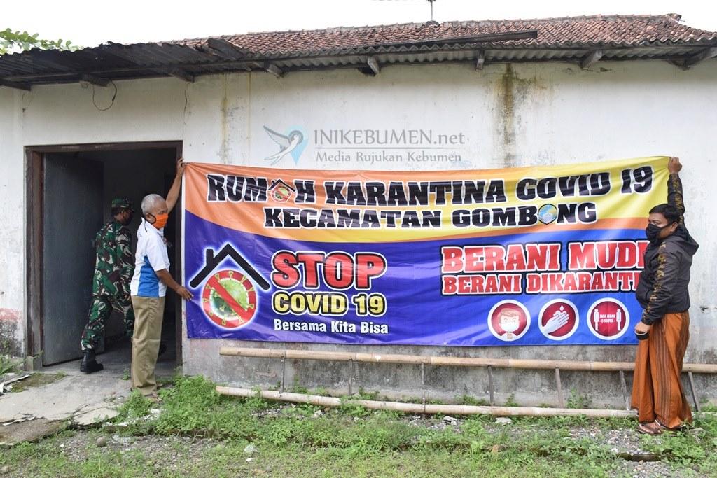 """Satgas Covid-19 Kecamatan Gombong Siapkan """"Rumah Angker"""" untuk  Karantina Pemudik"""