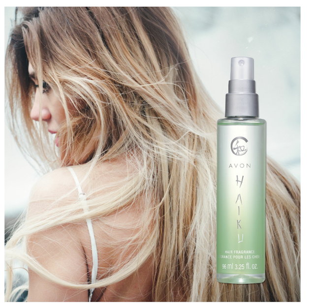 Caress your tresses with featherlight micro conditioners that won't weigh down hair. WHAT IS IT? A new way to wear a serene scent featuring jasmine, lilies and sparkling citrus. Micro conditioners, such as aloe leaf juice, won't weigh down hair. WHO'S IT FOR? Who like Haiku and fresh scents. WHY TRY IT? It's an affordable and innovative way to experience a top-selling scent. 96 ml. Limited edition.