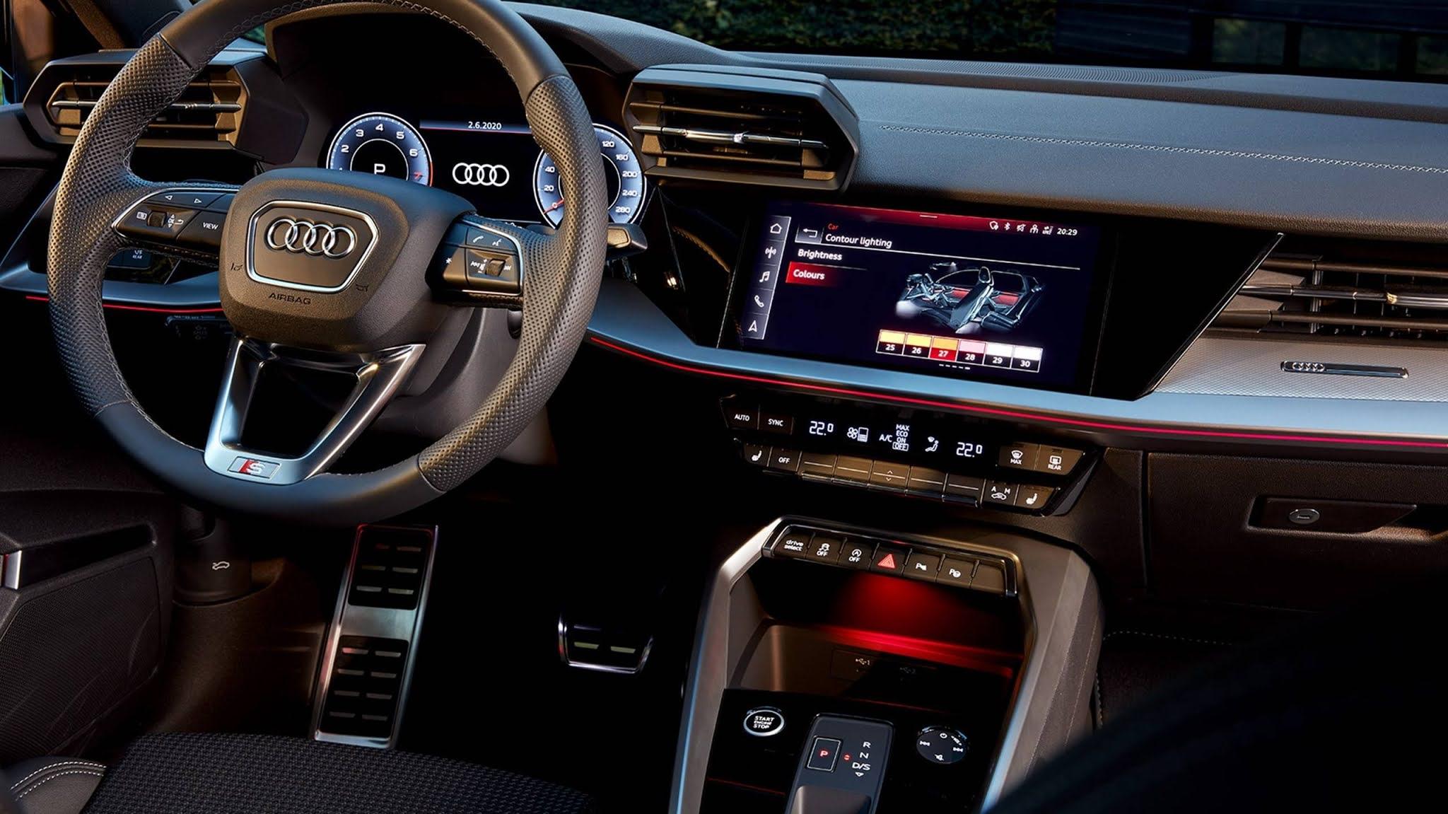 Novo Audi A3 2022 Sportback e Sedã: preço R$  264.990 - Brasil