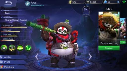 guide, build item khusus dan tips pakai hero Akai
