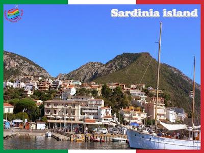 Tourism in Sardinia Island, Italy