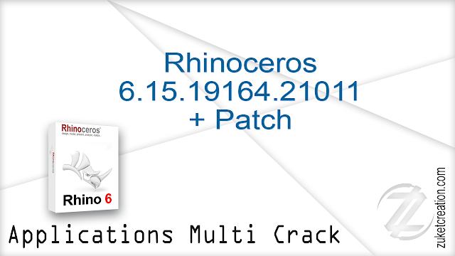 Rhinoceros 6.15.19164.21011 + Patch   |  262 MB