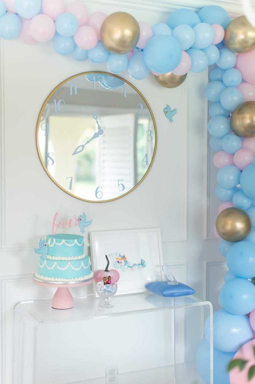 Cinderella Birthday Party by The Celebration Stylist