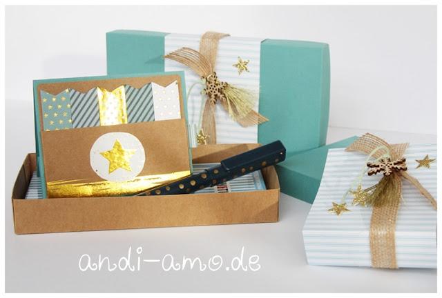 Kleine Geschenk hübsch verpackt andi-amo