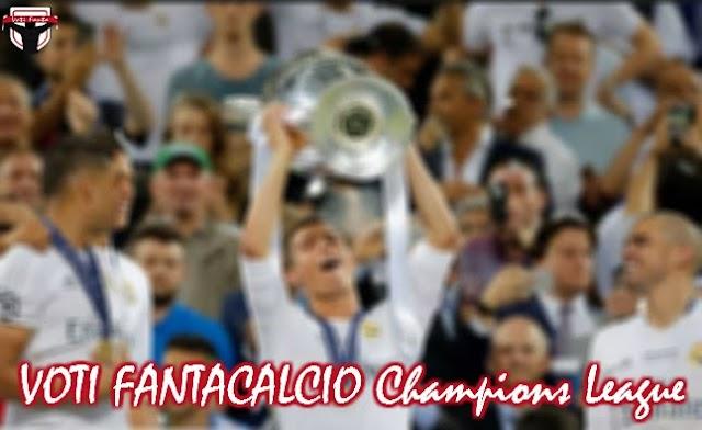 Archivio VOTI FANTACALCIO CHAMPIONS LEAGUE: Finale