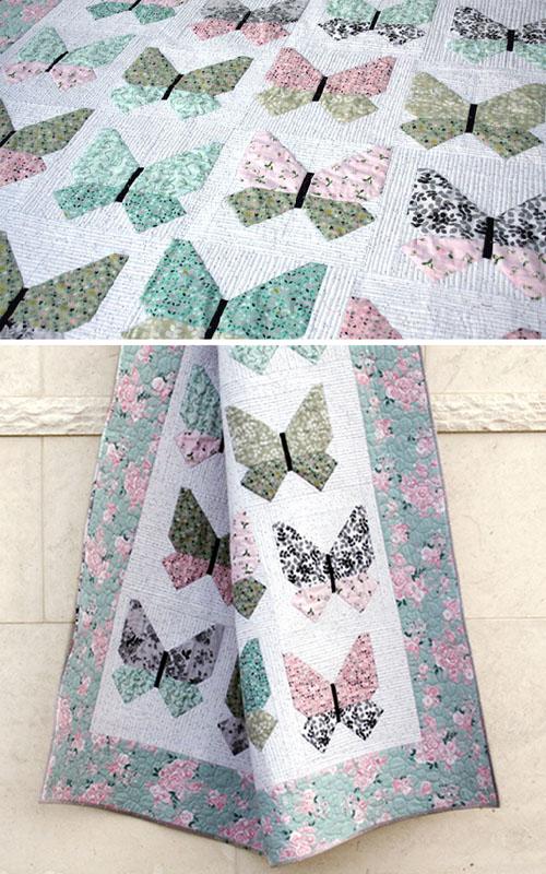 Beautiful Butterfly Quilt Pattern