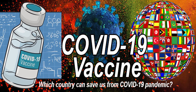 COVID-19 vaccine - what country wins the race?