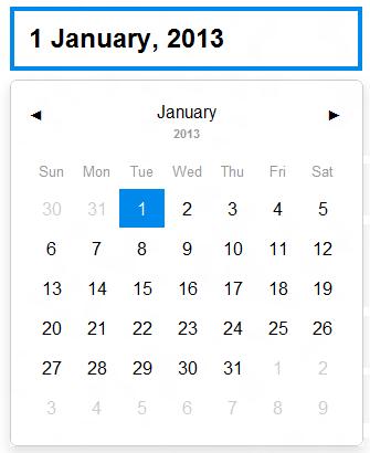 jquery datepicker date format - jQuery 2 DotNet