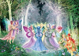 pinturas-creaciones-de-hadas-sirenas-y-princesas cuadros-princesas-pinturas