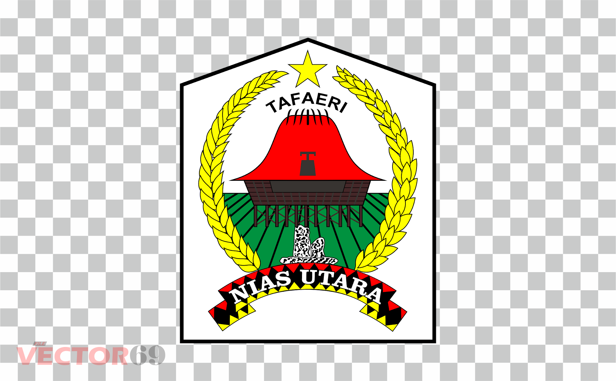 Kabupaten Nias Utara Logo - Download Vector File PNG (Portable Network Graphics)