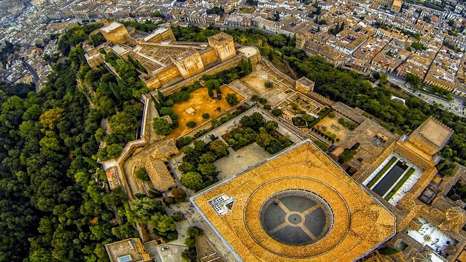 Alhambra Fortress Granada Spain
