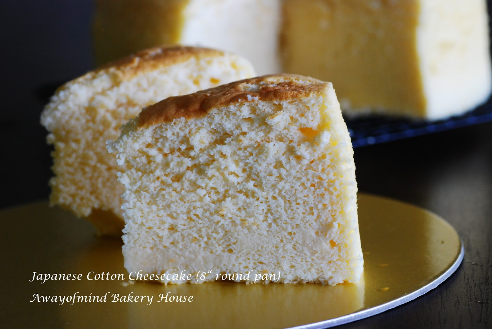 Japanese Cotton Cheesecake With  Inch Cake Pan