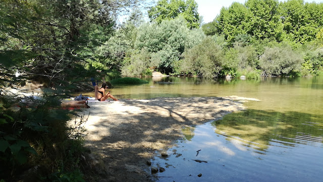 Praia Fluvial Verim  para crianças