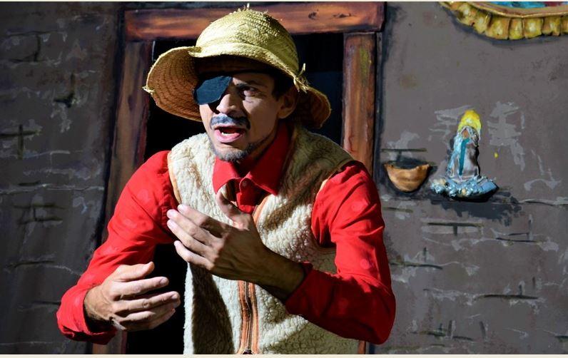 Dia 21 estreia no Vale do Ribeira temporada online gratuita do teatro Histórias do avô do bisavô de Agripino