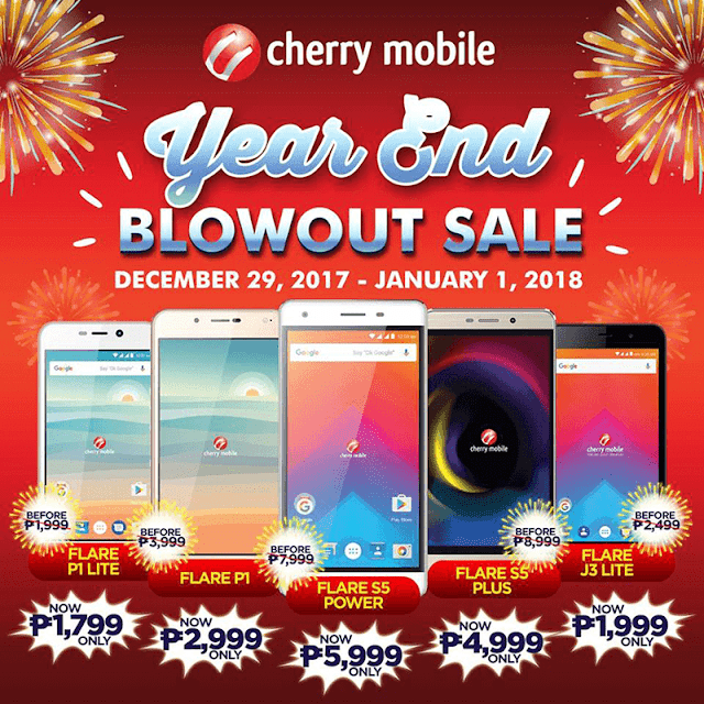Cherry Mobile announces #YearEndBlowoutSale, save up to PHP 4K