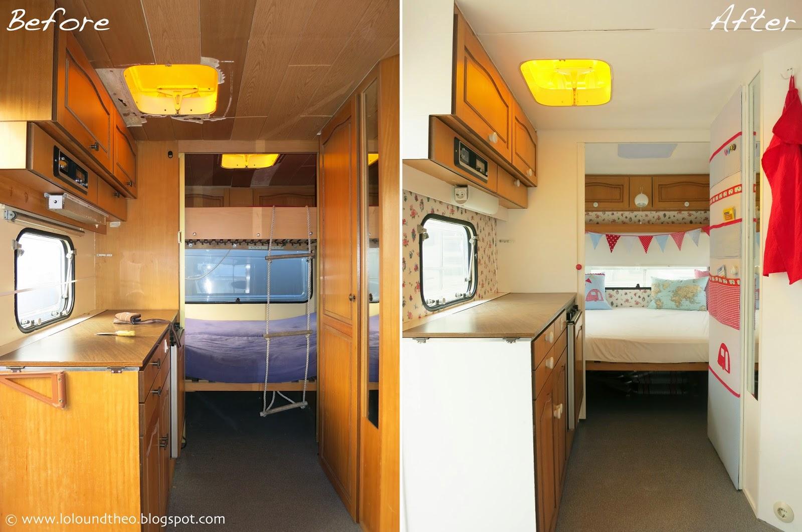 lolo und theo unser wohnwagen ist fertig das gro e. Black Bedroom Furniture Sets. Home Design Ideas