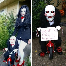 Toddler and Mom Jigsaw Costumes