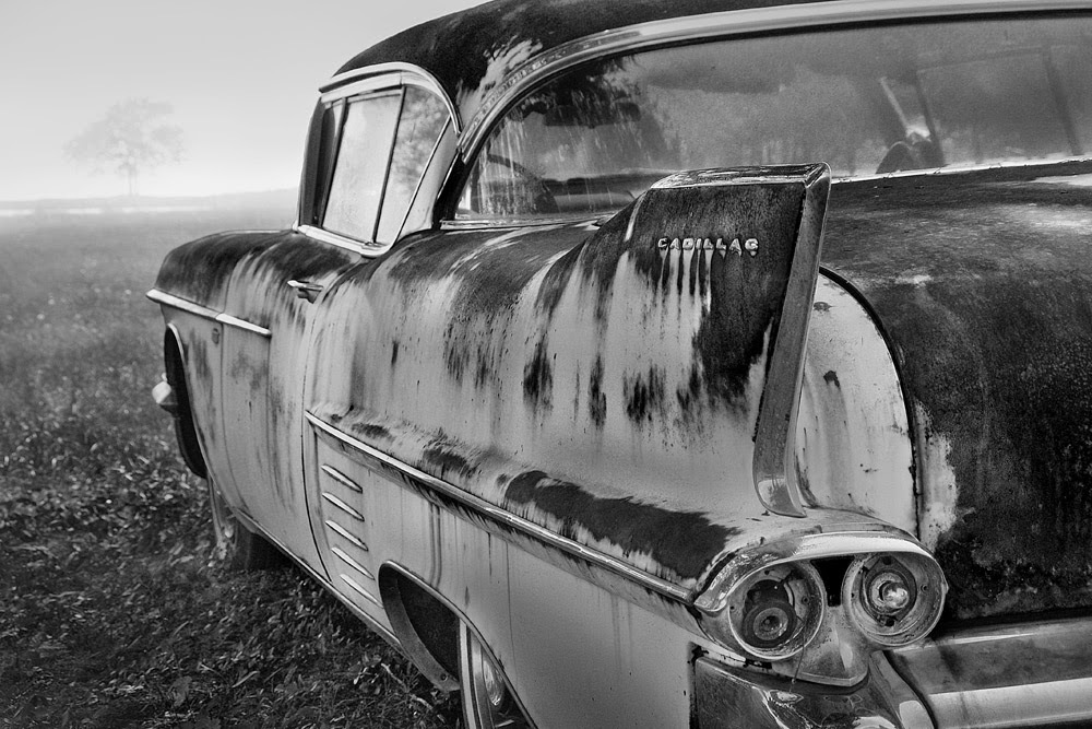 artist/photographer Eric M. Gustafson - Old Car