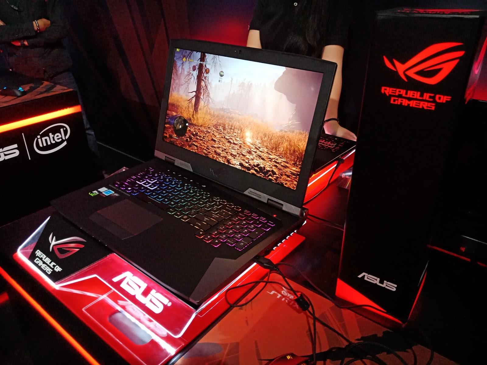 Blog Jasa Keuangan dan Teknologi: ASUS Hadirkan Tiga Seri Terbaru Laptop  Gaming ROG untuk Manjakan Gamers