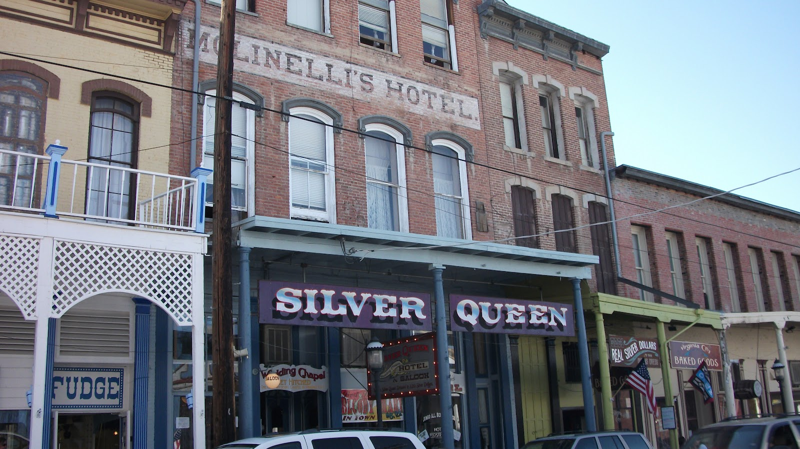 Evp Silver Queen Hotel Virginia City Nv 7 12 Voice To 25