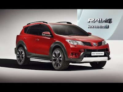 2017 Toyota RAV4 Hybrid HD Photos collection